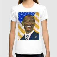 obama T-shirts featuring Obama by Stan Kwong