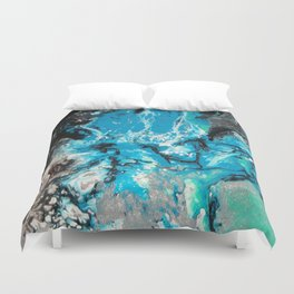 Water Explosion Duvet Cover