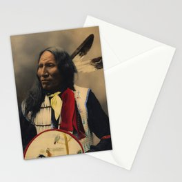 Strikes With Nose, Oglala Sioux Chief 1899 Stationery Cards