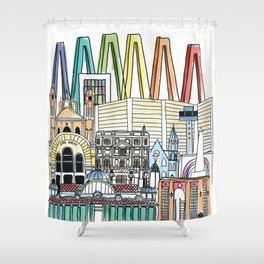 Maracaibo  perfil Shower Curtain