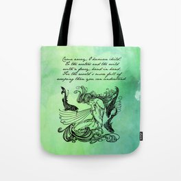 William Butler Yeats - The Stolen Child Tote Bag