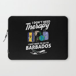 Barbados flag I Barbados Souvenirs Laptop Sleeve