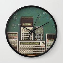 Casio Calculators...the good old days. Wall Clock