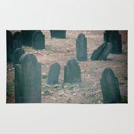 Spooky Little Graveyard Rug