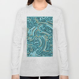 sqiggle wiggles 004 Long Sleeve T-shirt
