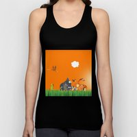 What's going on in the jungle? Kids collection Unisex Tank Top
