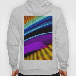 Colorful bands of light Hoody