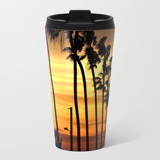 CALIFORNIA SUNSET Metal Travel Mug