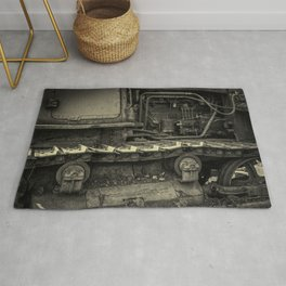 Tracks of the Warped Earth Mover Rug