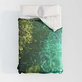 Crystal Cenote Comforters