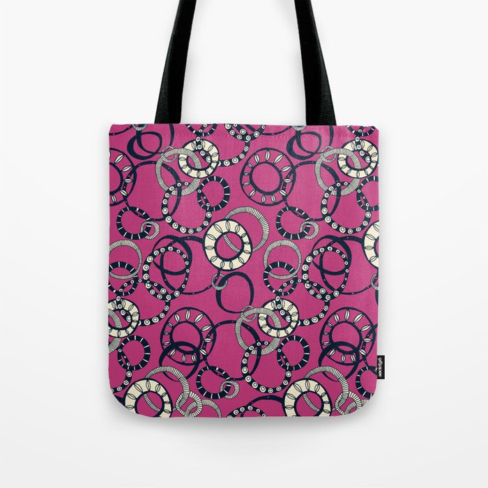 Honolulu hoopla pink Tote Bag