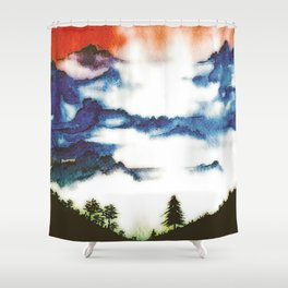God and I Shower Curtain