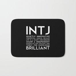 INTJ (black version) Bath Mat