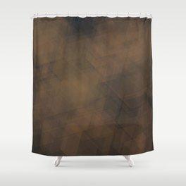 hexabronze Shower Curtain