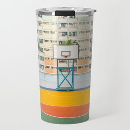 BASKETBALL COURT Travel Mug