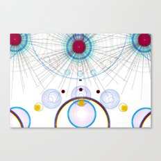 Circle art Canvas Print