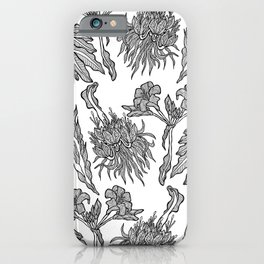 Floral Pattern Guidance iPhone Case