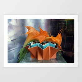MultiStacking Art Print