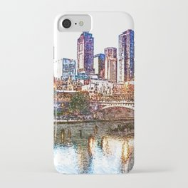 Glow of Melbourne iPhone Case