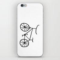 bike iPhone & iPod Skins featuring Bike by Kristijan D.