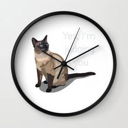 I'm Judging You Wall Clock