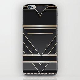 Art deco design IV iPhone Skin