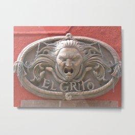 Wall Relief No. 2 in San Miguel de Allende, Mexico (2005) Metal Print