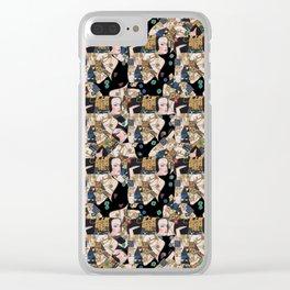 Klimt woman Clear iPhone Case