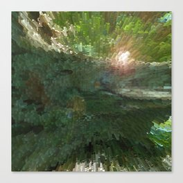 Crepe Myrtle In 3-D v.2 Canvas Print