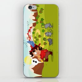 The Pied Piper of Hamelin  iPhone Skin