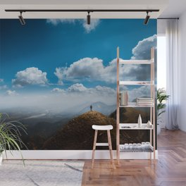 Exploring new heights Wall Mural