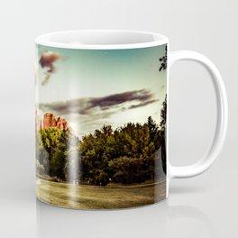 Southwest Chimney Rock Vortex Sedona Arizona Coffee Mug