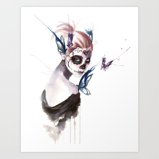Mourning Art Print
