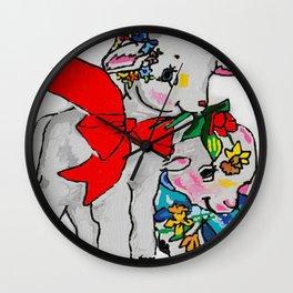 Little friends Wall Clock
