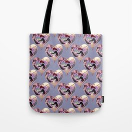 Positively Forceful Felines Tote Bag