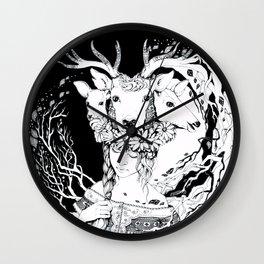 Charpatian Soul Wall Clock