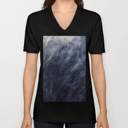 Blue Clouds, Blue Moon Unisex V-Neck