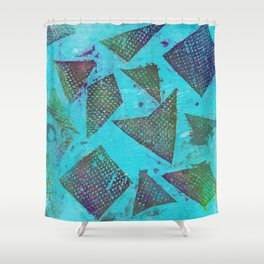 Abstract No. 403 Shower Curtain