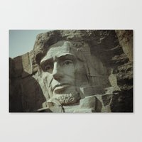 lincoln Canvas Prints featuring Lincoln by Jeremy Jon Myers
