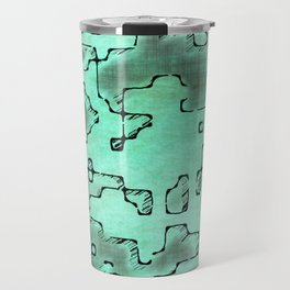 fantasy dungeon maps 7 Travel Mug