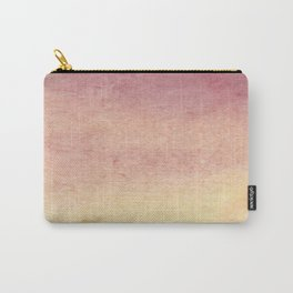 Blush/coral texture Carry-All Pouch