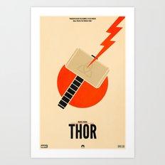 Thor (Variant) Art Print