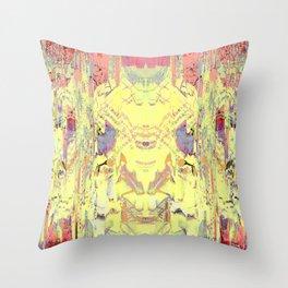Diary of the Demon Throw Pillow