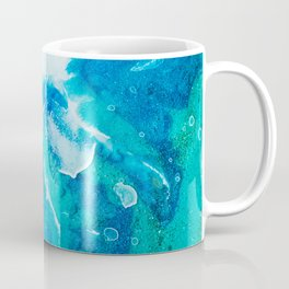 "Tides of Change | ""Split Tide"" (2) Coffee Mug"