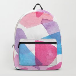 Girls Play Translucent Triangles Backpack