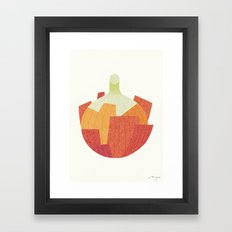 Onion Framed Art Print