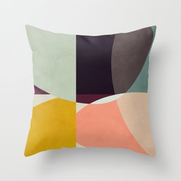shapes abstract Throw Pillow