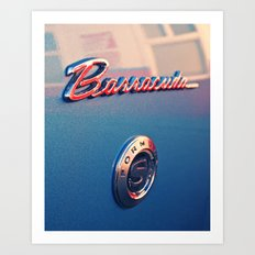 Barracuda Americana Art Print