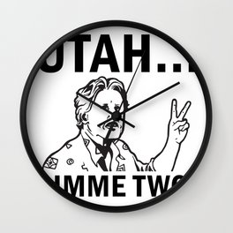 Gimme Two Wall Clock