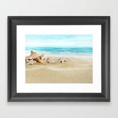 Sea Stars Framed Art Print